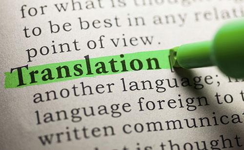 Traduzioni scientifiche